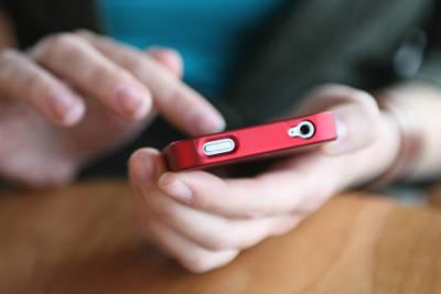 using a smart phone