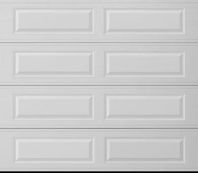 long garage door panel