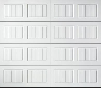 bead board garage door panel