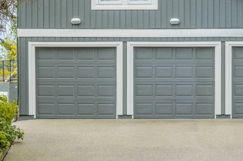 two car garage door