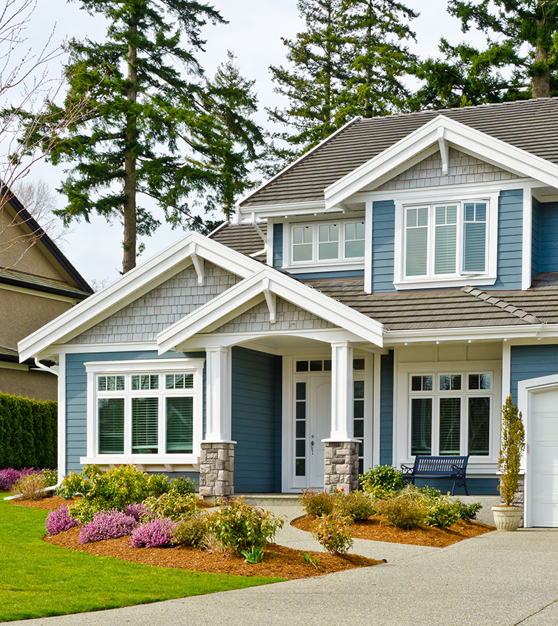 Vinyl siding styles for Different exterior house styles