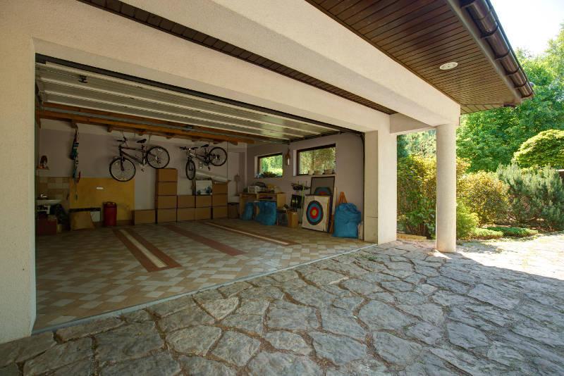 using a garage for storage