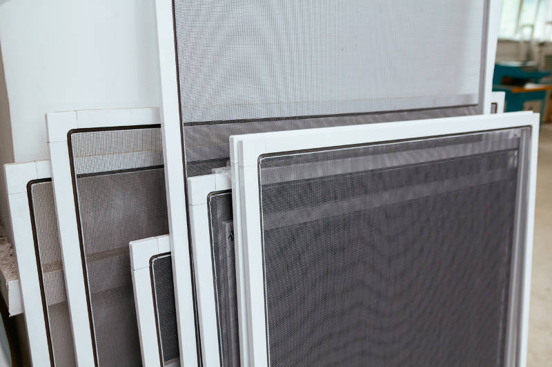 bunch of window screens