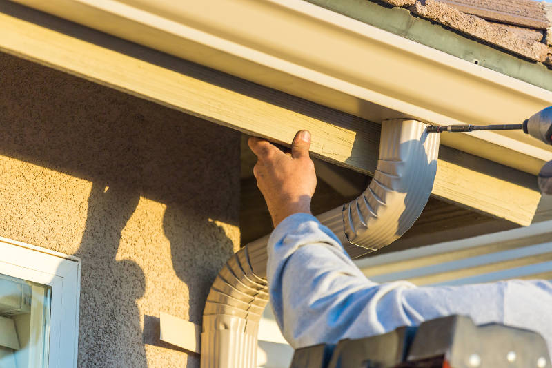 fix leaks in your gutters