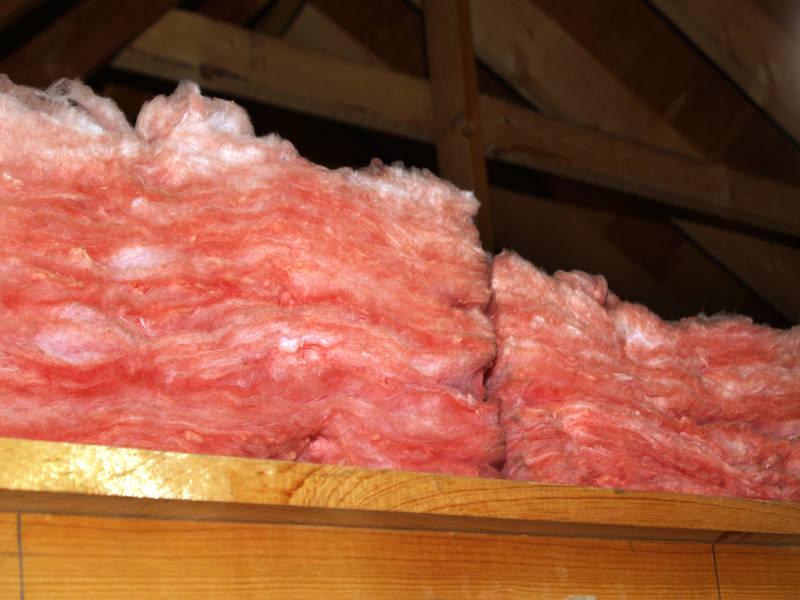 pink attic insulation