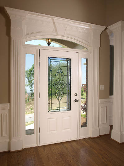 an insulated door to make your home more energy efficient